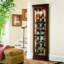 Pulaski Wine Cabinet Shop Pulaski Victorian Cherry Curio Cabinet At Lowes Com