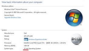 Cara Cek Windows 32 Bit atau 64 Bit
