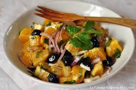 cuisine sicilienne recette salade d oranges à la sicilienne la cuisine de francesco