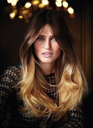 hair colourest of the year 2015 ombre dip dyed l oreal hair colour trend