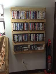 Wall Dvd Shelf Pallet Movie Shelf Housing Pinterest Movie Shelf Pallets