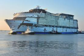 harmony of the seas the float out tour youtube