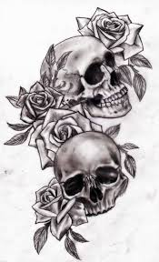 bilderesultat for colored skull my twisted obsession s