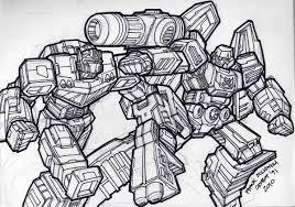 megatron coloring pages 2d artwork classics optimus prime vs megatron tfw2005 the