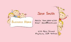 childcare business cards enchanting child care business cards 59 in business card organizer