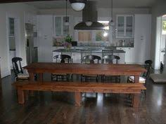 White Kitchen Table With Bench by Farmhouse Table Bench Kitchen Dining Room By Farmtablesplusmore