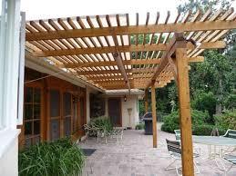 tettoie e pergolati in legno coperture in legno per esterni pergole tettoie giardino