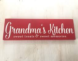 grandmother gift s kitchen sign sign grandmother gift