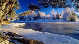 winter nature wallpapers icy river wallpaper winter nature wallpaper 1600 900 widescreen hd