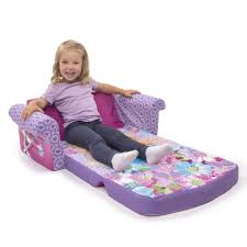 spin marshmallow furniture flip open sofa disney frozen