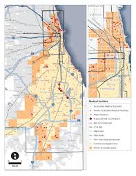 Chicago Transit Authority Map by Red Line South Extension Cmap