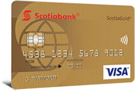 no fee scotiagold visa credit card scotiabank