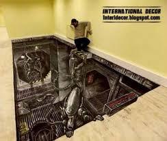 3d floor murals and 3d self leveling floor floor covering