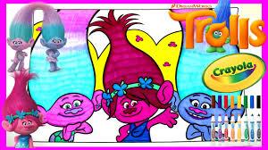 trolls movie poppy satin u0026 chenille crayola giant coloring