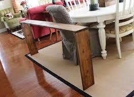 Diy Sofa Table Easy Diy Sofa Table Brass And Whatnots