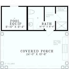 home plans with pools pool house plans pool house plans with kitchen ohfudge info