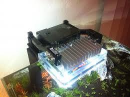 fluval edge marine light diy cree xp g fluval edge light upgrade the planted tank forum