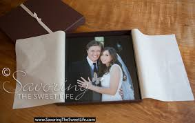 Custom Wedding Albums Custom Designed Wedding Albums U2013 Savoring The Sweet Life Blog