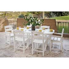 White Patio Dining Table And Chairs Dining Sets Costco