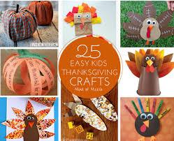25 easy thanksgiving crafts modern