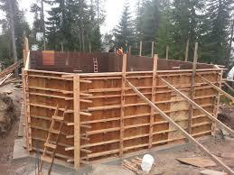 cabin progress update august 7 2013 u2013 basement walls the