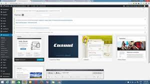 cara membuat album foto di blog wordpress cara download theme wordpress dari area admin wp admin youtube