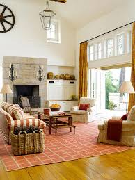 Brown Red And Orange Home Decor Cozy Decorating Orange U0026 Red The Inspired Room
