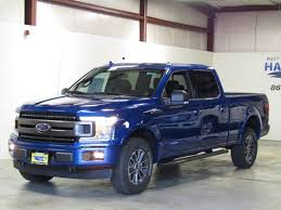 2018 ford f 150 xlt crew cab 4wd 6 5 u0027 box 0 lightning blue crew