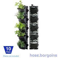 Ebay Vertical Garden - vertibloom living wall garden starter kit modular indoor vertical