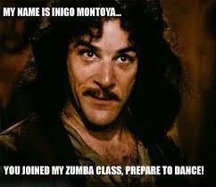 Zumba Meme - zumba class know your meme