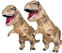 fancy dress mascot giant inflatable dinosaur suit for