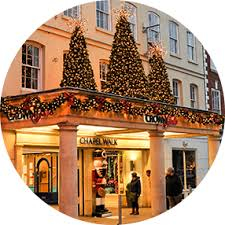 Christmas Decorations For Commercial Premises by Christmas Lighting And Decorating Service For Commercial Property