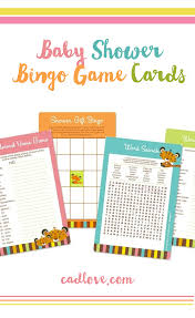 where to buy baby shower bingo cards cadlove