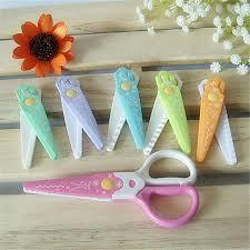 bureau scrapbooking diy mignon kawaii en plastique ciseaux pour papier cutter