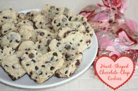 heart shaped cookies handmade heart shaped chocolate chip cookies the