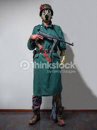 Halloween Costumes Soldier Halloween Costume Zombie Soldier Stock Photo Thinkstock