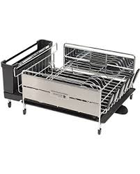 find the best deals on sabatier expandable compact dish rack with