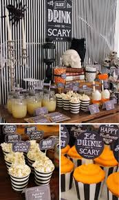 kara u0027s party ideas eat drink and be scary party planning ideas