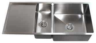 Stainless Steel Undermount Double Bowl Kitchen Sink With Drain - Double bowl undermount kitchen sinks