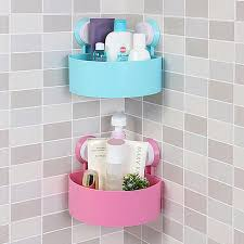 Bathroom Wall Baskets Wall Basket Anizer Corner Shelf Basket Storage Por Shelf 2017
