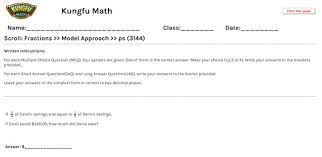 math grade 4 fractions worksheets and resources singapore math