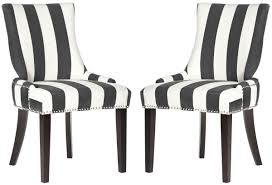 Striped Dining Room Chairs Black And White Striped Dining Chair 1000 Ideas About Mixed Dining