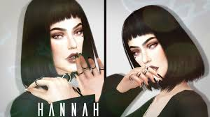 the sims 4 create a sim hannah baumann alternative style