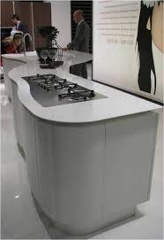 curved kitchen islands modern curved kitchen island 16 modern kitchen designs with