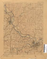 Joplin Mo Map Kansas Historical Topographic Maps Perry Castañeda Map