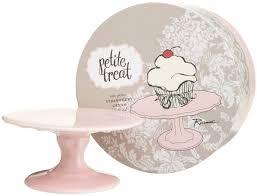 amazon com rosanna petit treat cupcake stand pink cake stands