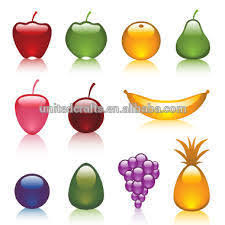 high quality antique artificial glass fruit and vegetables