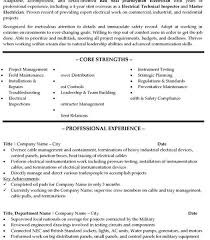 Odt Resume Template Resume Template Electrician Electrician Resume Sample