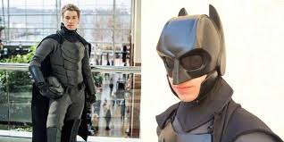 student makes real life batman costume that u0027s ready for combat