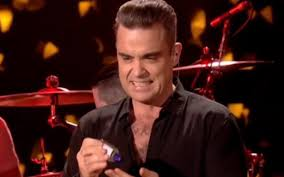Meme Williams - robbie williams disinfecting himself after touching fans is 2017 s